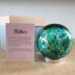 Mother Friendship Ball Marine Swirls