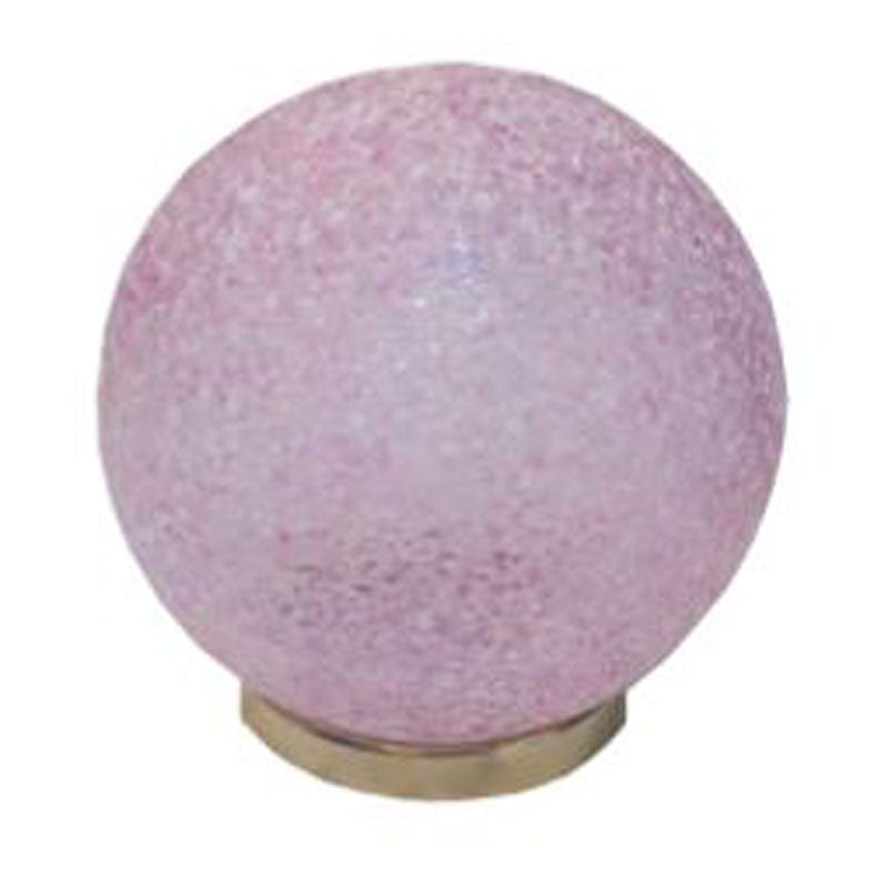 Friendship Ball Pink Crystal Textured - The Chic Nest