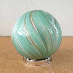 Sister Friendship Ball Sage Green Swirls - The Chic Nest
