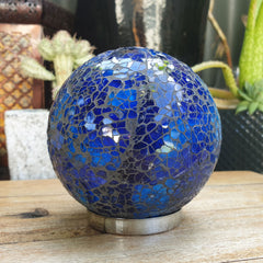 Friendship Ball Sapphire Blue Mosaic - The Chic Nest