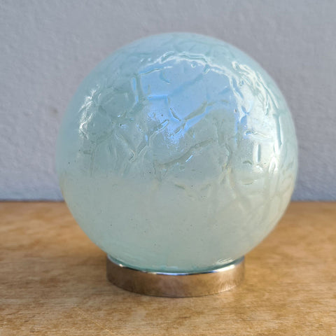 Mother Friendship Ball Soft Blue Crackle