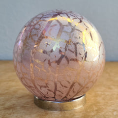 Mother Friendship Ball Pink Crackle