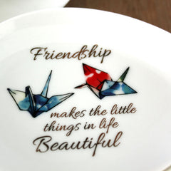 Friendship Cranes Trinket Dish - The Chic Nest
