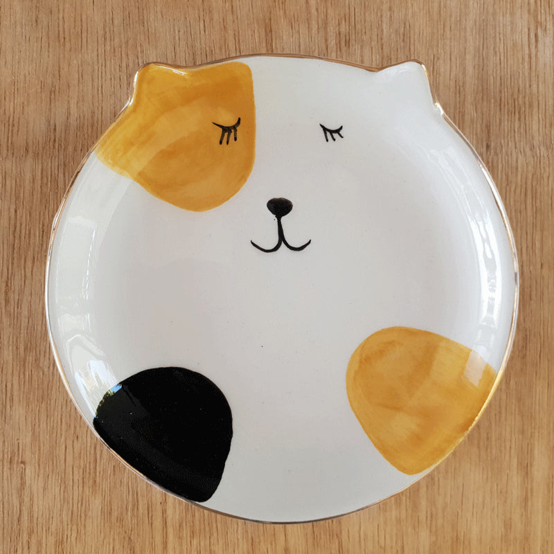 Ginger Cat Trinket Dish - The Chic Nest