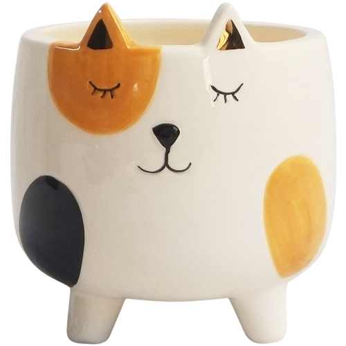 Ginger Cat Planter - The Chic Nest