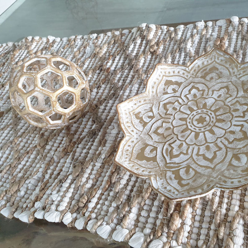 Gold Table Top Tray/Wall Decor - Small