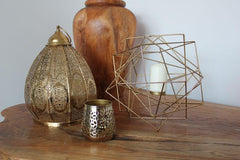 Geo Candle Holder - Gold - The Chic Nest