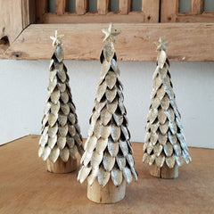 Gold Christmas Tree - The Chic Nest