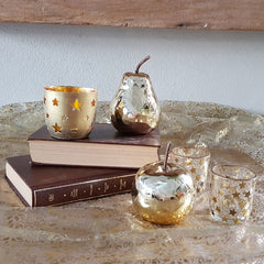 Gold Star Votive - The Chic Nest