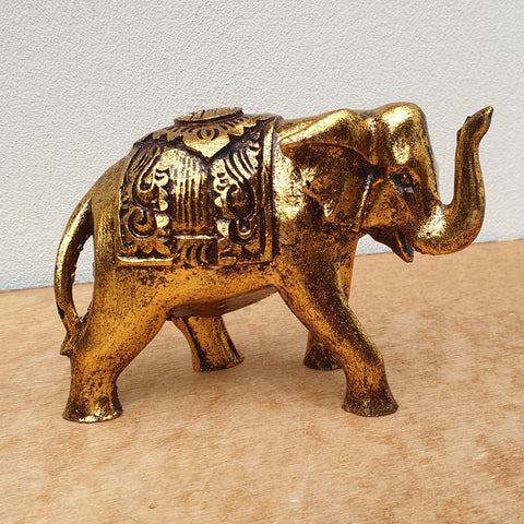 Gold & Black Elephant - Calf