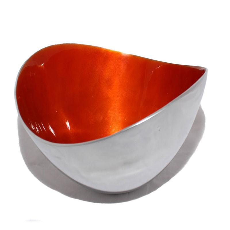 Orange Large Deep Bowl - The Chic Nest
