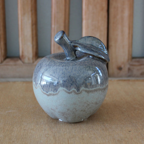 Grey/Blue Aventurine Apple 12cm - The Chic Nest