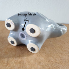 Grey Elephant Planter - Large - The Chic Nest