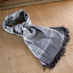 Tassle Edge Cotton Scarf