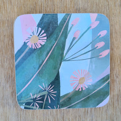 Gum Leaves Set of 4 Coasters