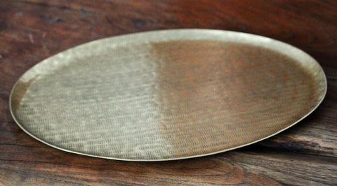 Hammered Gold Tray