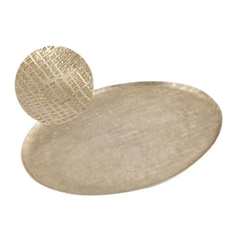 Hammered Gold Tray - The Chic Nest