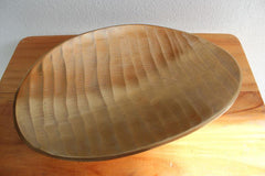 Gold Curved Wave Dish - The Chic Nest