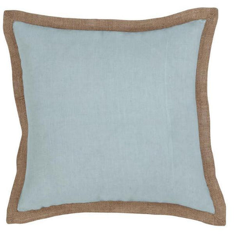 Hampton Cushion Linen Blue