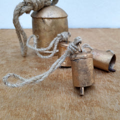 Small Brass Bell - Handcrafted