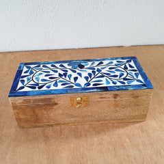 Set of 2 Bone Inlay Handmade Boxes - The Chic Nest
