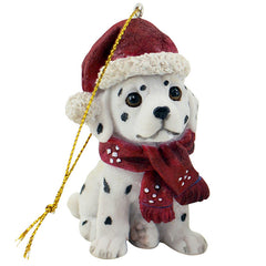 Hanging Dalmation Christmas Ornament - The Chic Nest