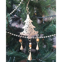 Hanging Christmas Tree Ornament - The Chic Nest
