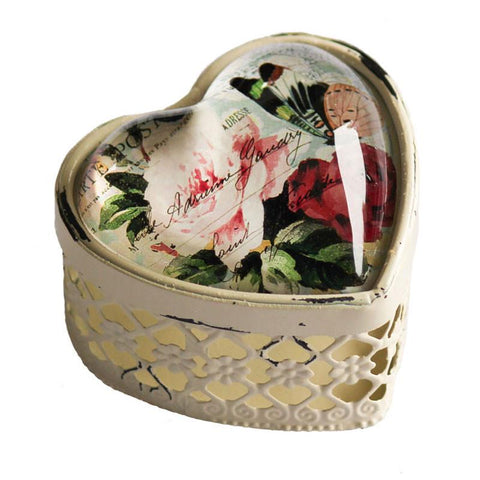 Heart Cut Out Trinket Box - The Chic Nest
