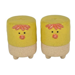 Hen Salt & Pepper Shakers