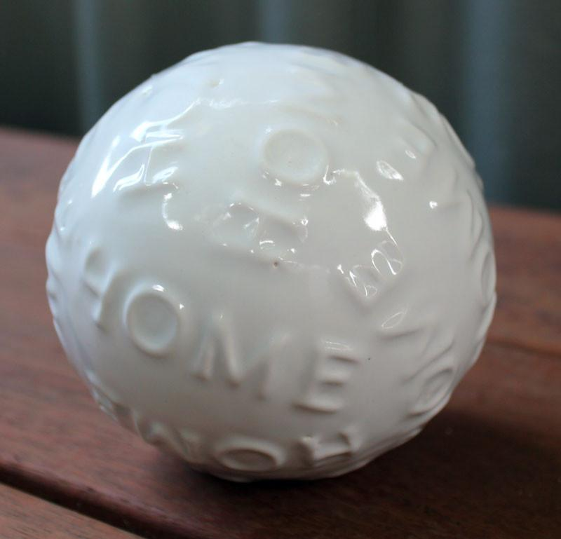 Home Decorative Ball - White - The Chic Nest