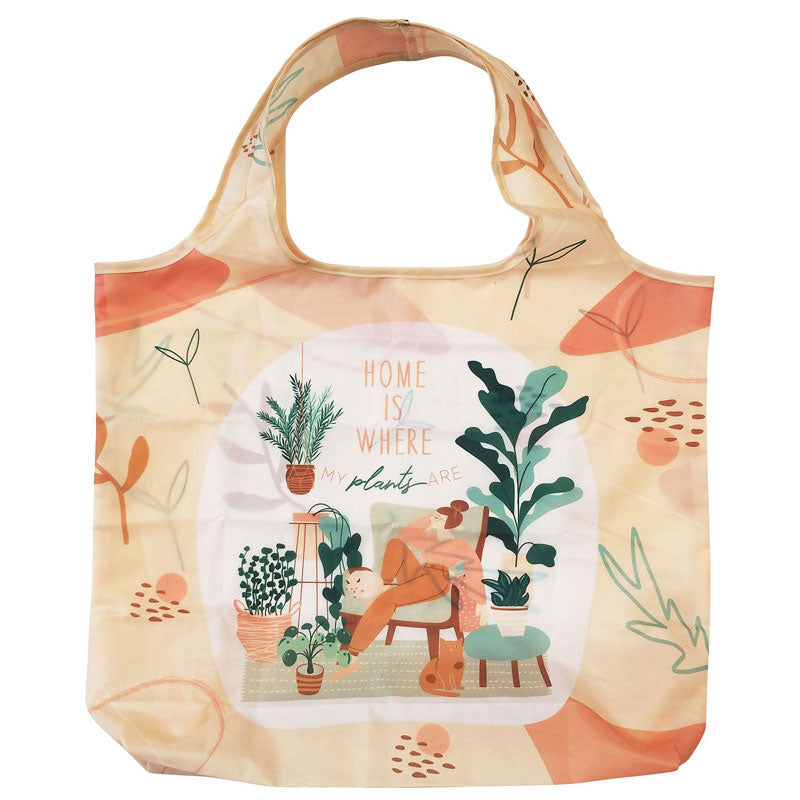 Home Is Where My Plants Are Eco Shopping Bag