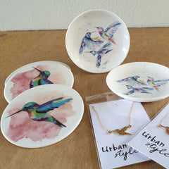 Hummingbird Set of 4 Coasters