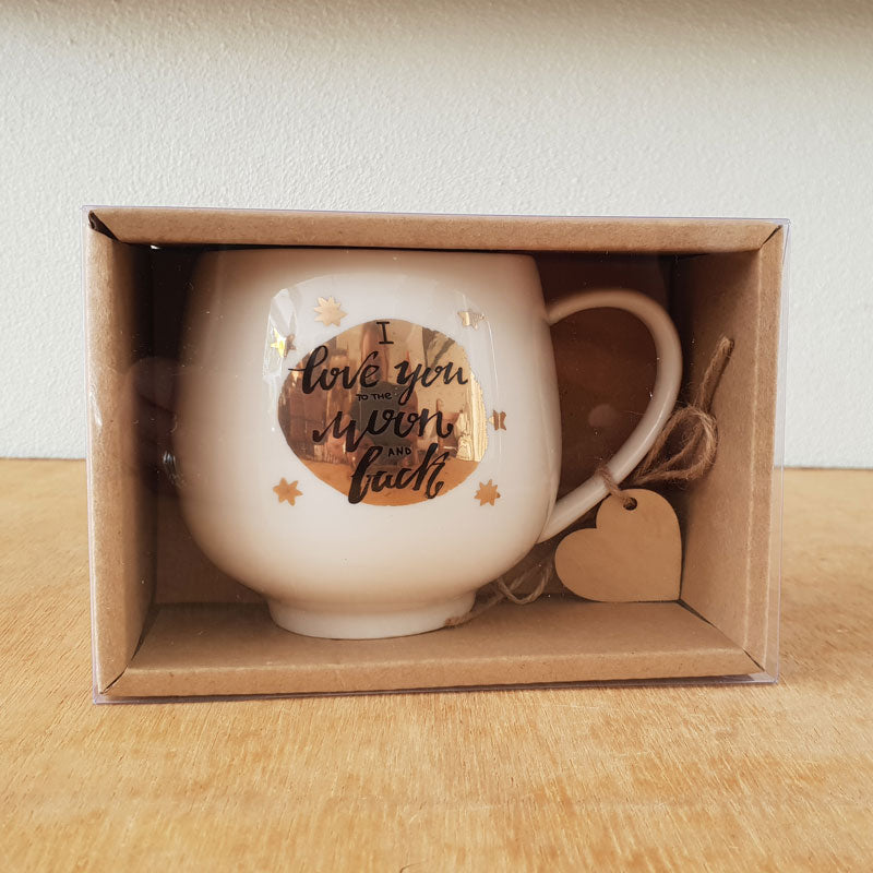I Love You To The Moon And Back Gift Boxed Mug