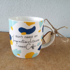 I Need Coffee Mug Gift Boxed Mug
