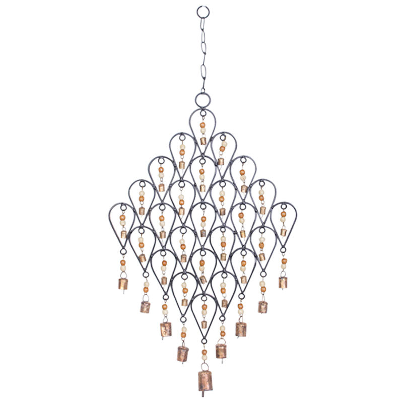 Iron Wind Chime - Teardrop - The Chic Nest
