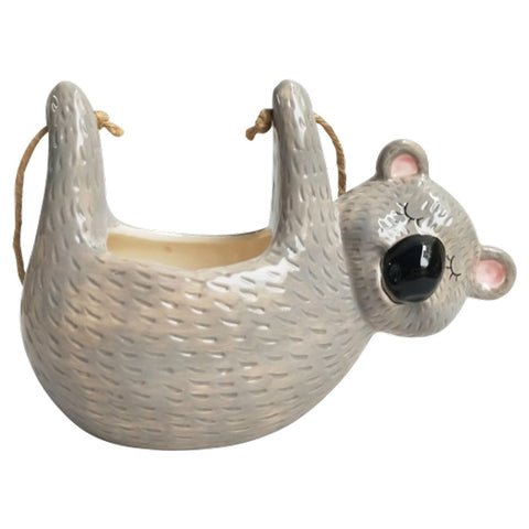 Koala Hanging Ceramic Planter