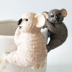 Koala Pot Hanger - Grey or Pink