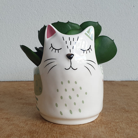 Leo Cat Planter - The Chic Nest