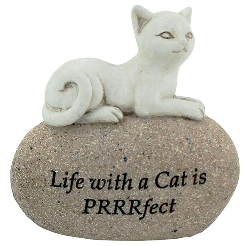 Life With a Cat is PRRRfect Figurine - The Chic Nest