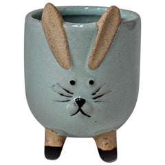 Little Bunny Planter - Blue