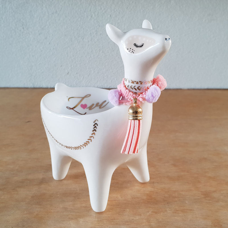 Llama Love Standing Dish - The Chic Nest