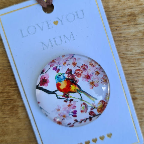 Love You Mum Gift Fridge Magnet