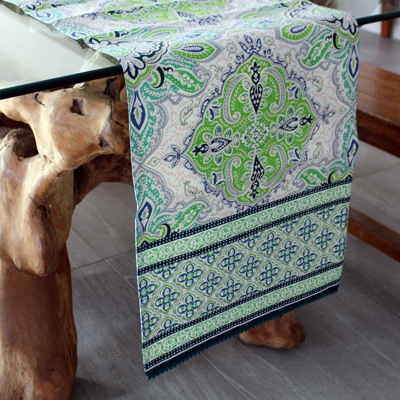 Lyon Table Runner - Handcrafted - The Chic Nest