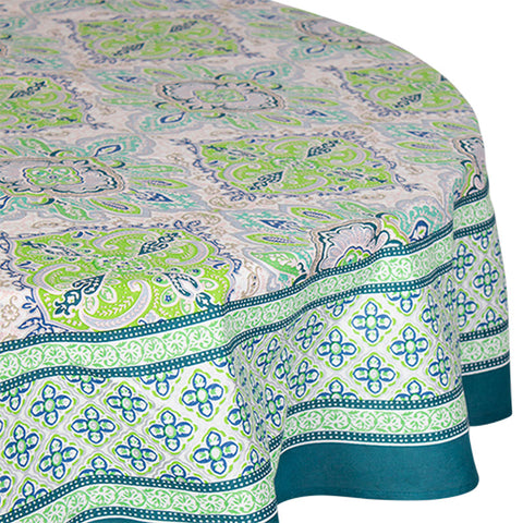 Lyon Round Tablecloth - Handcrafted