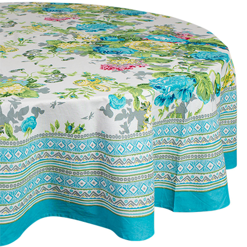 Maisie Round Tablecloth - Handcrafted