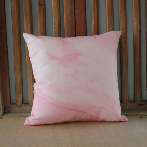 Pink Marble Blush Cushion - The Chic Nest
