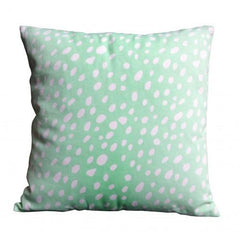 Mint Confetti Cushion - The Chic Nest