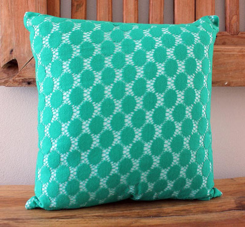 Mint Lace Cushion - The Chic Nest