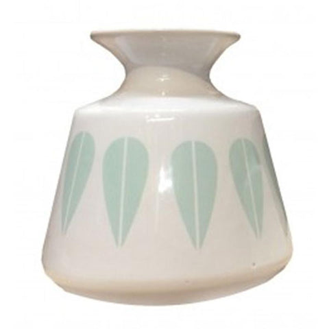 Mint Patterned Vase - The Chic Nest
