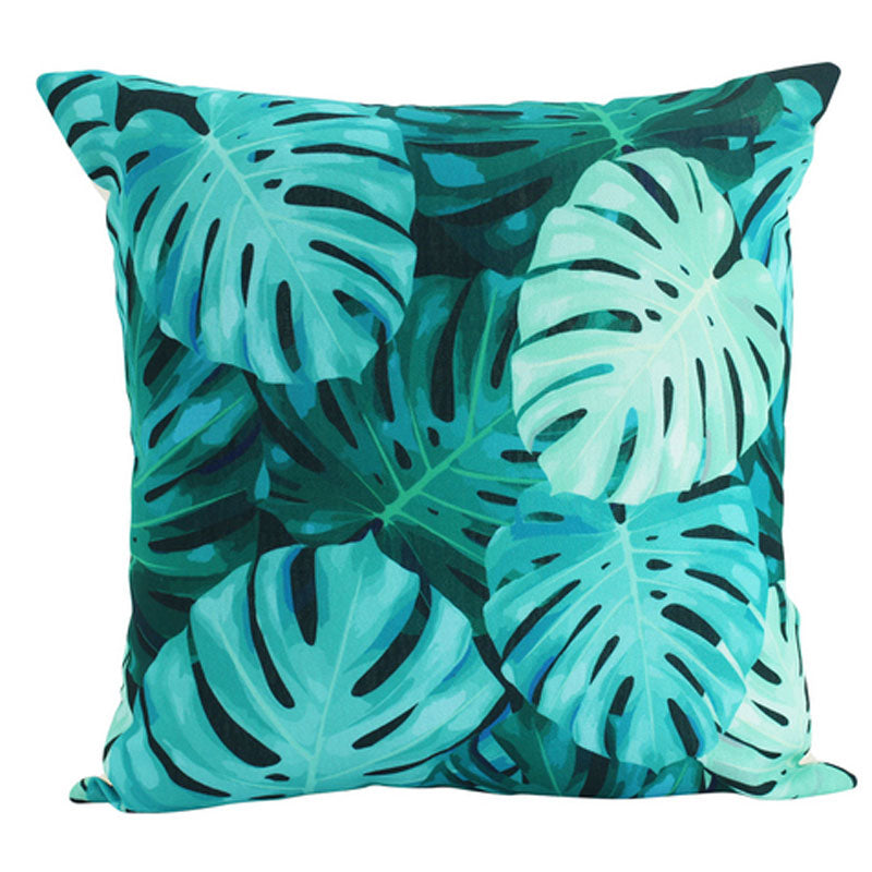 Monstera Leaf Cushion